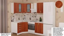Кухонный гарнитур угловой МДФ 1,2*1,4 м.