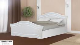 Кровать, МДФ глянец